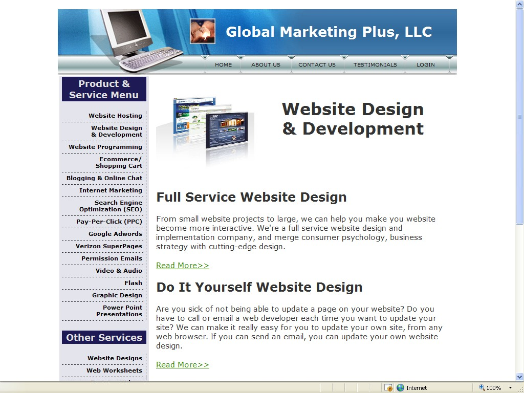 website-design-page